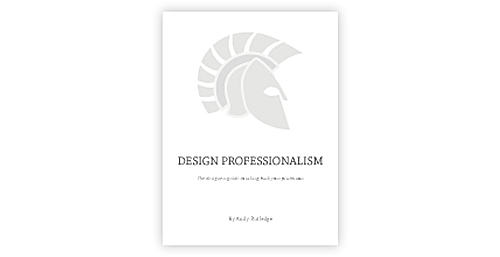Design Professionalism
